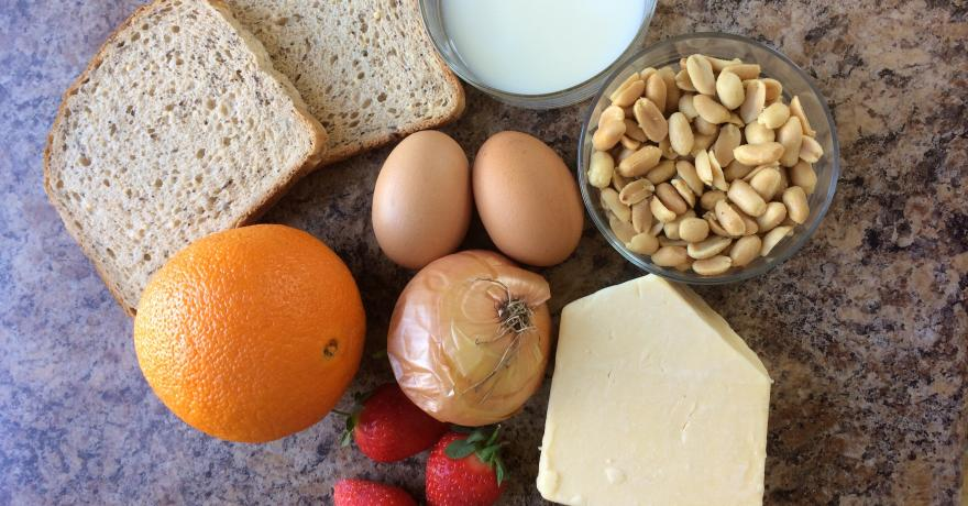 Food allergies and MS